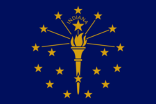 Indiana Flag - We have tax reminders for IN