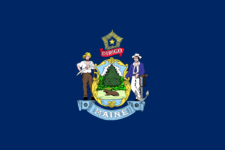 Maine Flag - We have tax reminders for ME