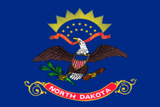 North Dakota Flag - We have tax reminders for ND